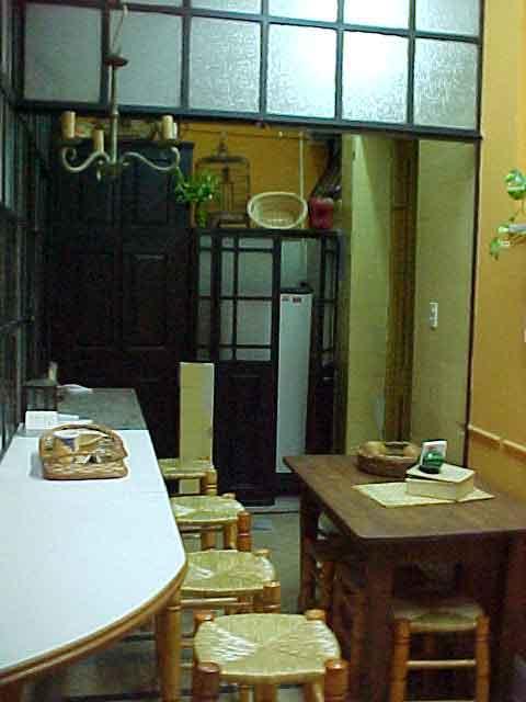 Hostel restaurant