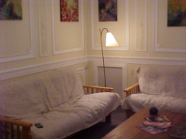 Lounge at Recoleta Hostel
