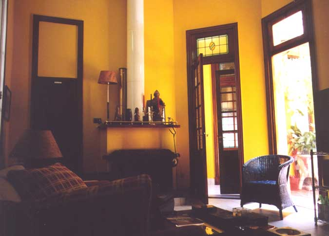 Living room Palermo B & B- Click to enlage the picture