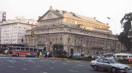 TEATRO COLON, nivel lirico internacional